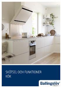 Ballingslöv manual: Skötsel och funktioner Kök